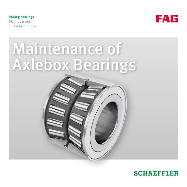 Maintenance of Axlebox Bearings