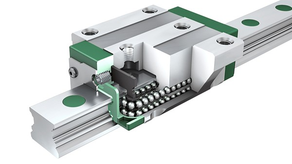 Schaeffler lineáris vezetékek: Négysorú golyósorsó egységek