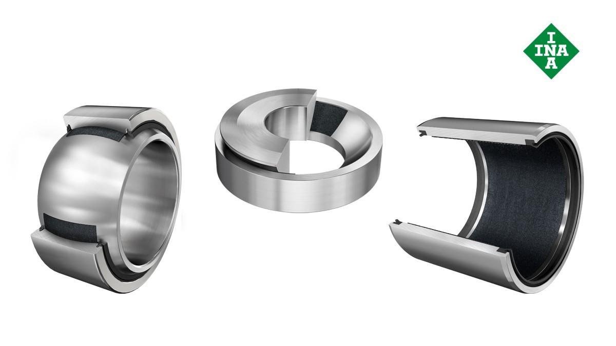 Schaeffler rolling bearings and plain bearings: Maintenance-free plain bearings