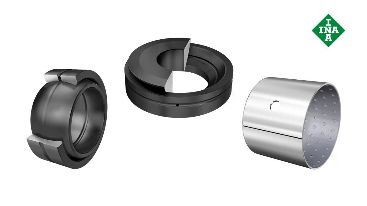 Schaeffler gördülőcsapágyak és siklócsapágyak: Karbantartást igénylő siklócsapágyak